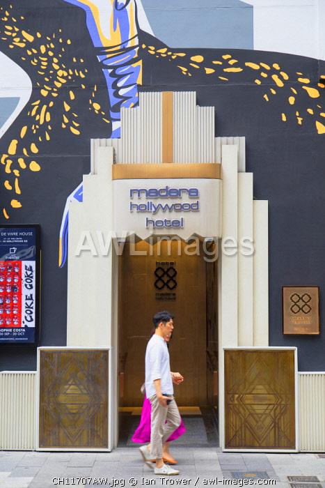 Madera Hollywood Hotel, Soho, Central, Hong Kong Island, Hong Kong, China