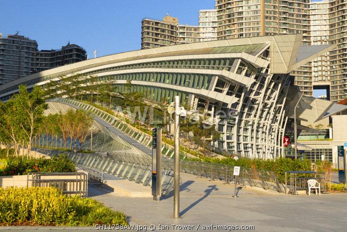 West Kowloon High Speed Rail Station, Kowloon, Hong Kong