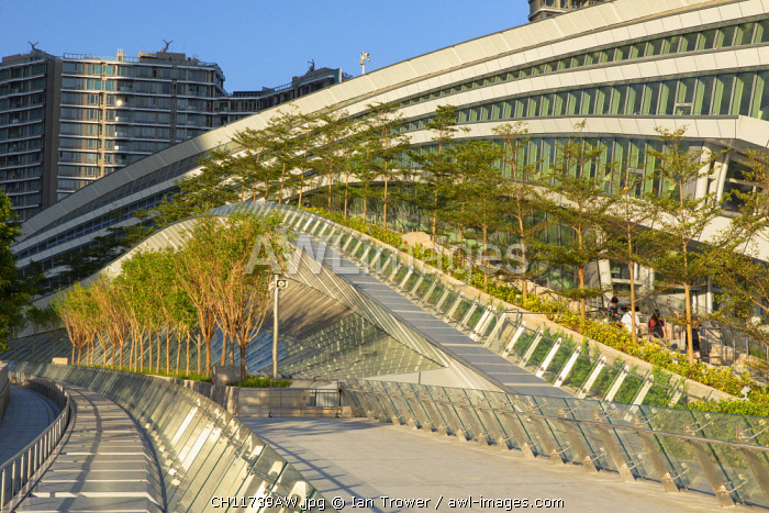 West Kowloon High Speed Rail Station, Kowloon, Hong Kong