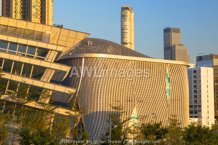 West Kowloon High Speed Rail Station and Xiqu Centre, Kowloon, Hong Kong