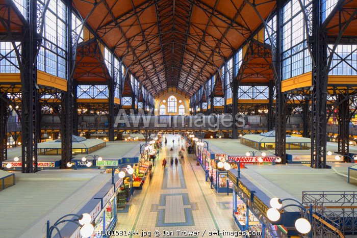 Central Market Hall, Budapest, Hungary