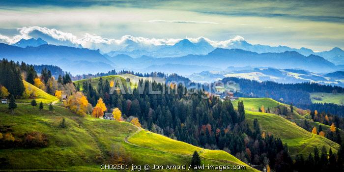 Emmental Valley, Berner Oberland, Switzerland