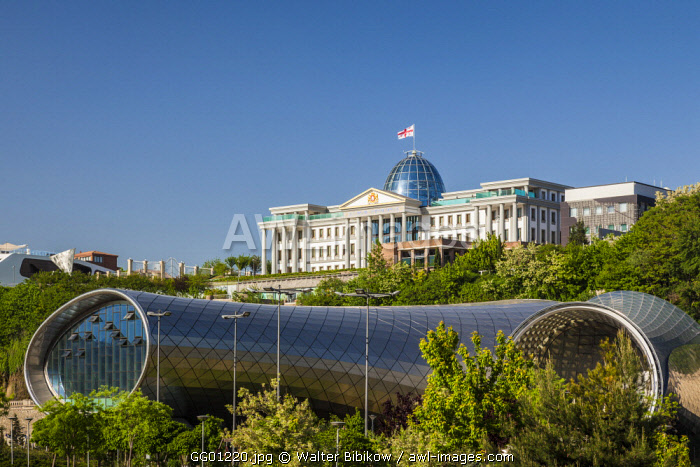 Georgia, Tbilisi, Presidential Palace and Concert Hall