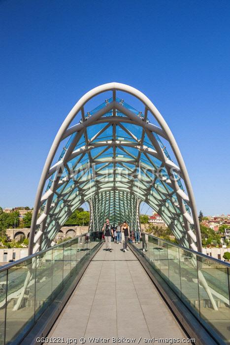 Georgia, Tbilisi, Peace Bridge