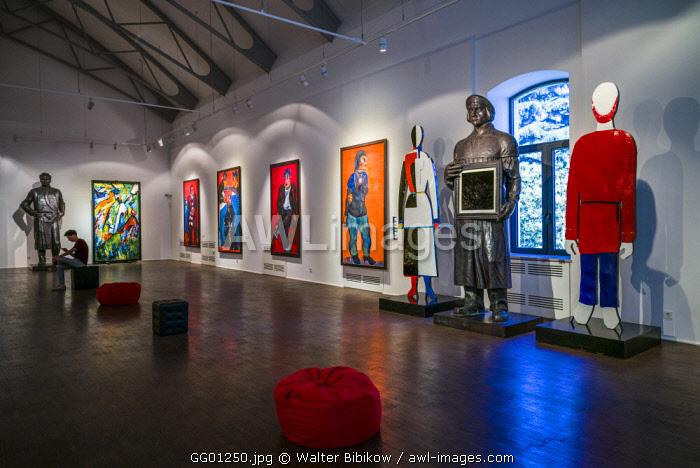 Georgia, Tbilisi, Zurab Tsereteli Museum, museum dedicated to famous Georgian artist