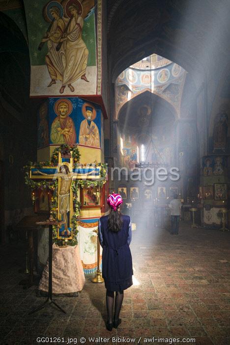 Georgia, Tbilisi, Old Town, St. Georgia Basilica