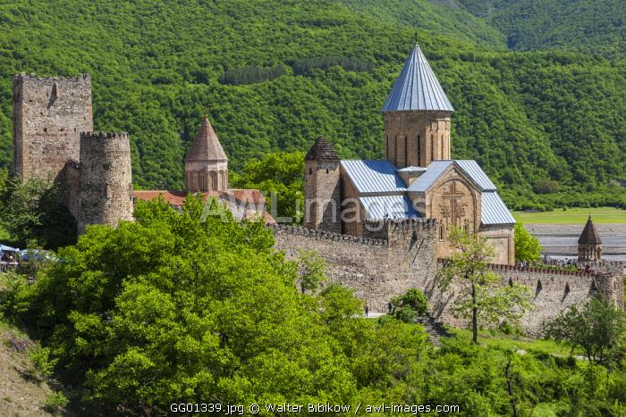 Georgia, Georgian Military Highway, Ananuri Fortress