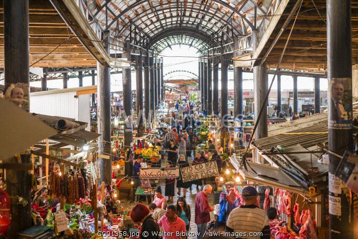 Georgia, Kakheti Area, Telavi, Bazari, town market