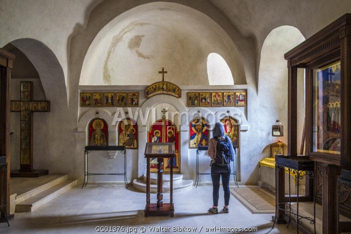 Georgia, Southeastern Georgia, Davit Gareja, Davit Gareja Monastery, Lavra Church