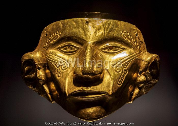 Gold Museum, interior, Bogota, Capital District, Colombia
