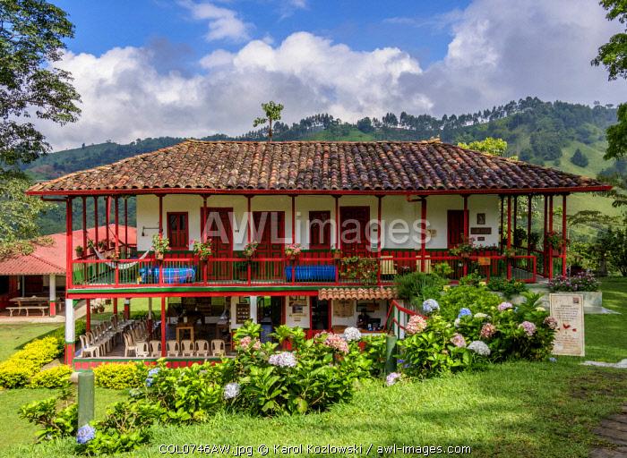 El Ocaso Farm, Salento, Quindio Department, Colombia