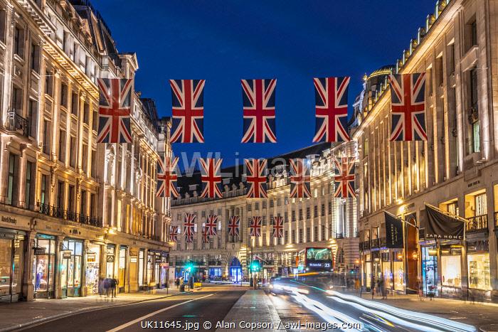 UK, England, London, West End, Regent Street