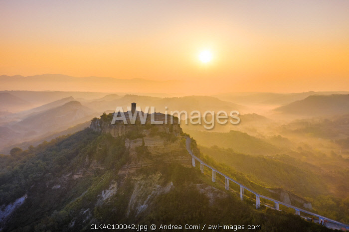 'The Dying Town', Civita di Bagnoregio, Viterbo district, Lazio, Italy, Europe
