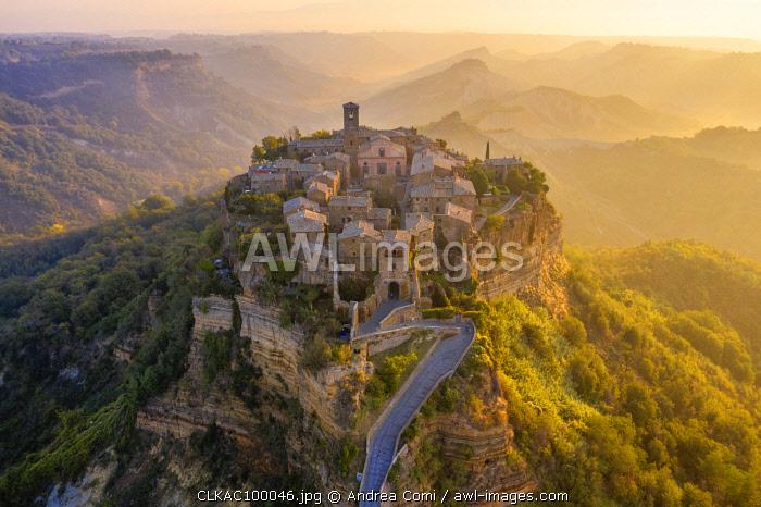 'The Dying Town', Civita di Bagnoregio, Viterbo district, Lazio, Italy, Europe