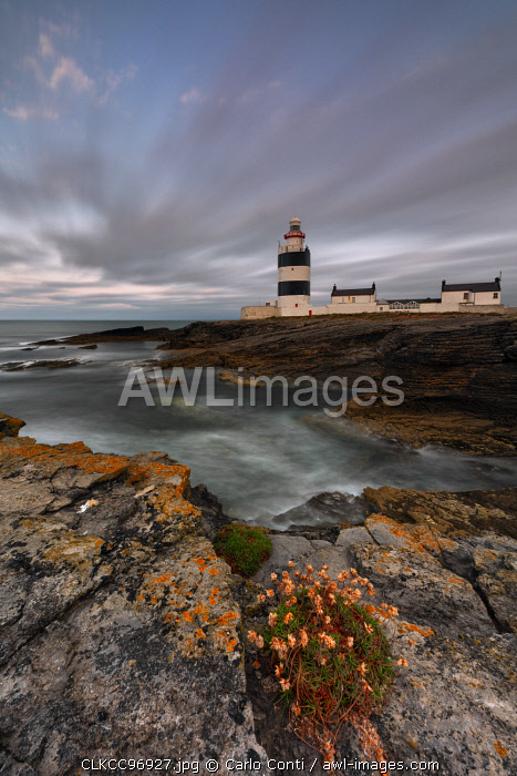 Hook Head lighthouse, Hook peninsula, country Wexford, Leinster province, south east Ireland, Ireland, Europe
