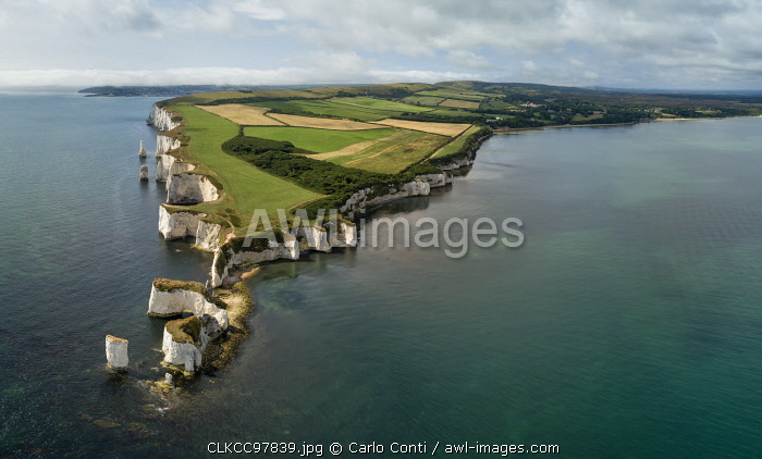 Old Harry Rocks, Studland, Dorset, England, UK