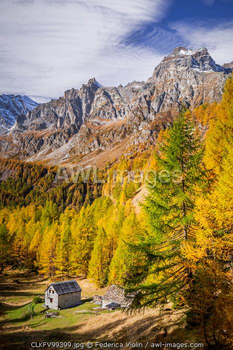 Alpe Devero, Ossola valley, Piedmont, Italy.