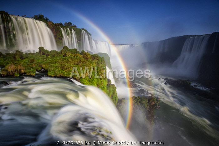 Brazilian side of Iguazu waterfall, southern Brazil