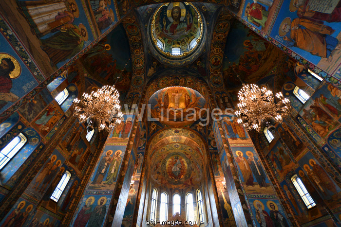 Church of the Savior on Blood,Saint Petersburg, Russia