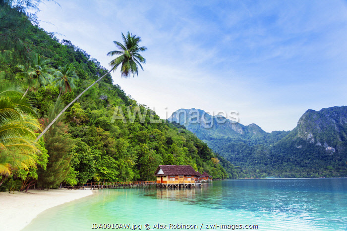 awl-images.com - Indonesia / Asia, Southeast Asia, Indonesia, Maluku, Spice Islands, Seram island, Ora beach resort