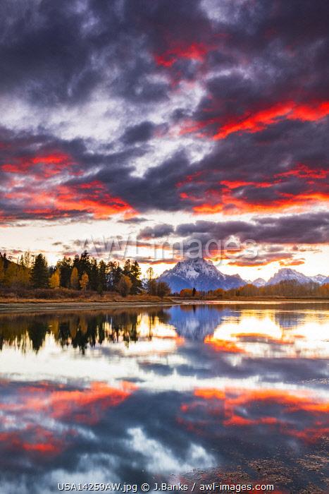 Oxbow bend, Grand Teton National Park, Wyoming, USA