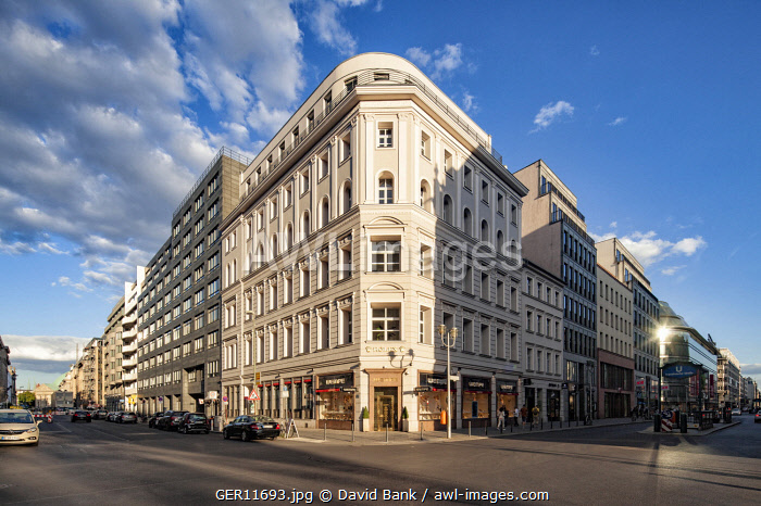 The Friedrichstrasse is one of Berlin's most important shopping boulevards.