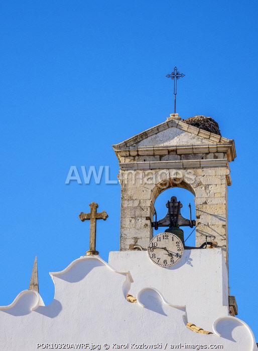 Arco da Vila, detailed view, Faro, Algarve, Portugal