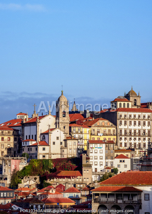 View towards Nossa Senhora da Vitoria Church, Porto, Portugal