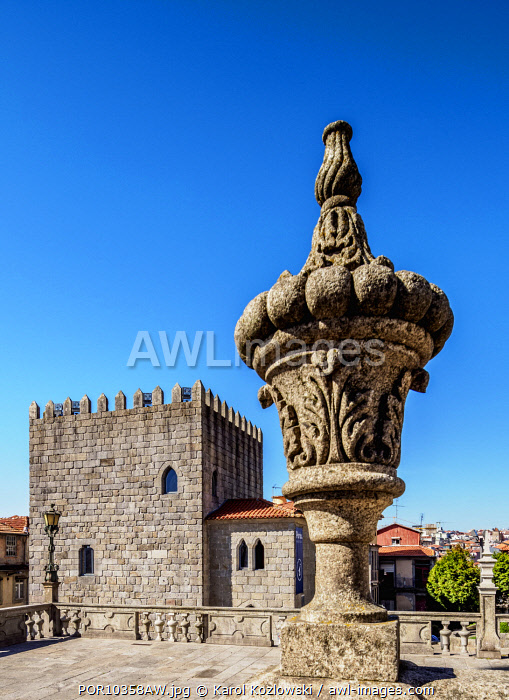 Medieval Tower, Pelourinho, Porto, Portugal