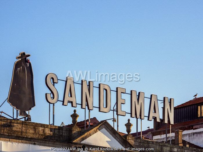 Sandeman Winery, Vila Nova de Gaia, Porto, Portugal