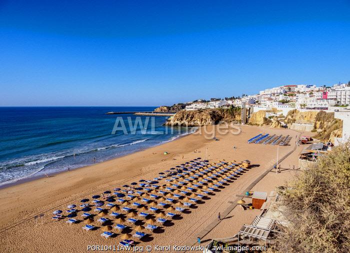 Paneco Beach, elevated view, Albufeira, Algarve, Portugal
