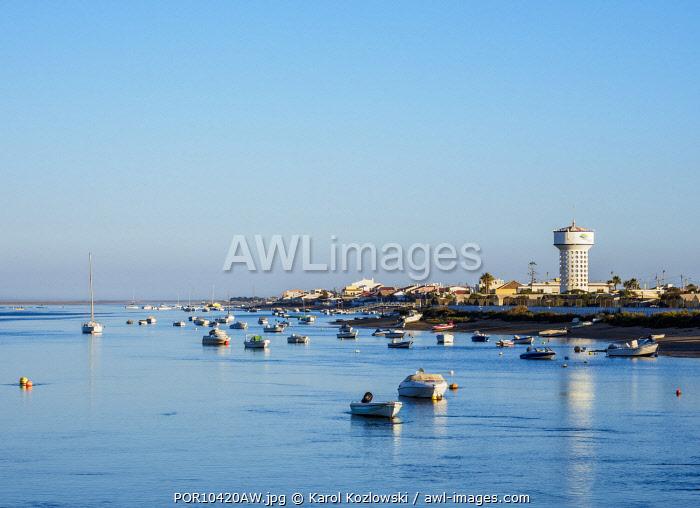 Ilha de Faro, Ria Formosa Natural Park, Faro, Algarve, Portugal