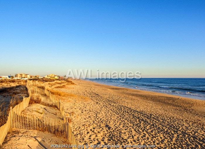 Faro Beach, Ilha de Faro, Ria Formosa Natural Park, Faro, Algarve, Portugal