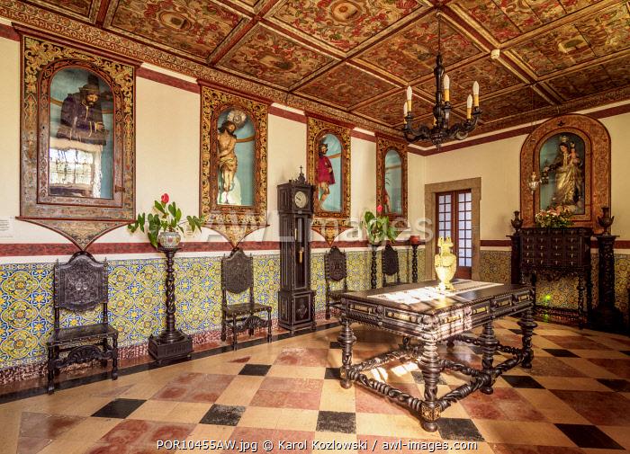 Carmo Church, interior, Faro, Algarve, Portugal