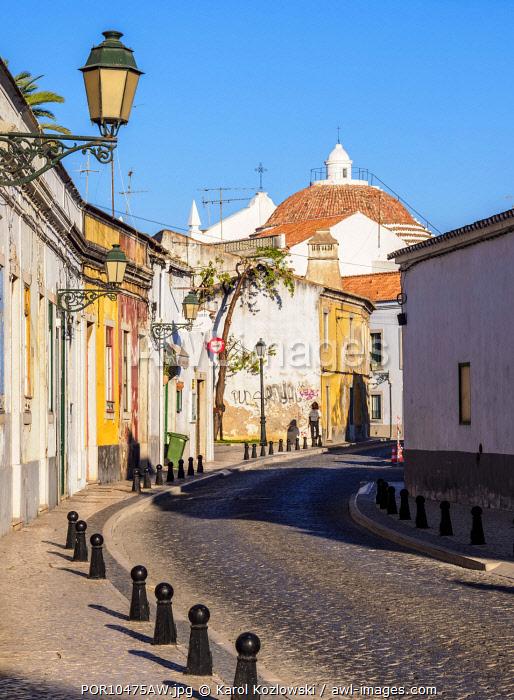 Street of Faro, Algarve, Portugal