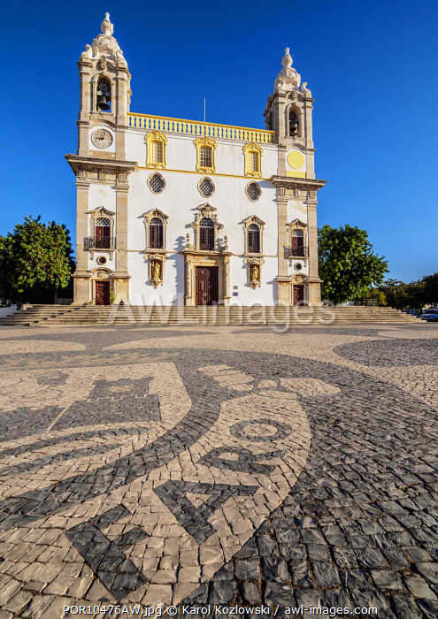 Carmo Church, Largo do Carmo, Faro, Algarve, Portugal