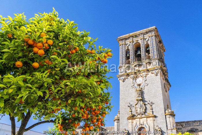 Parroquia De Santa Maria or St. Mary Parish, Arcos de la Frontera, Andalusia, Spain