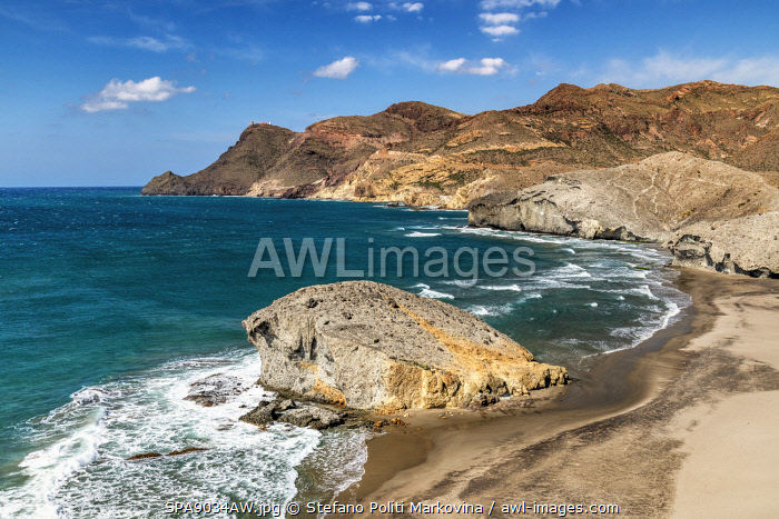 Playa de Monsul, Cabo de Gata, Almeria, Andalusia, Spain