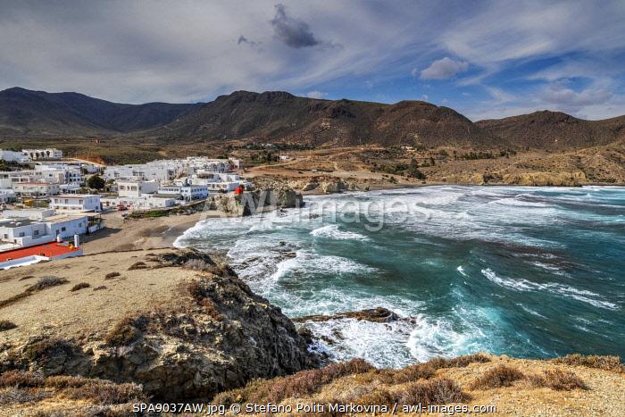 Isleta del Moro, Cabo de Gata, Almeria, Andalusia, Spain