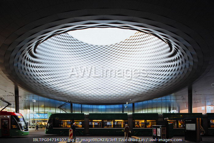 The eye to the sky, Basel Exhibition Square, City Lounge, Basel, Switzerland, Europe