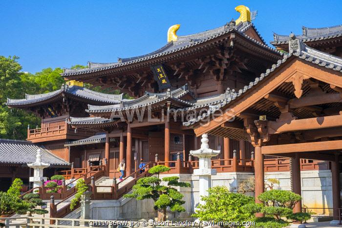 Chi Lin Nunnery, Wong Tai Sin district, Kowloon, Hong Kong, China