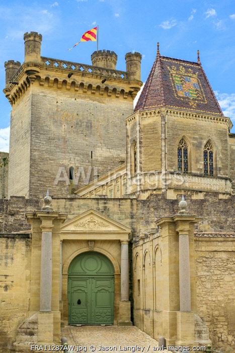 Château du Duché castle, Uzès, Gard Department, Languedoc-Roussillon, France