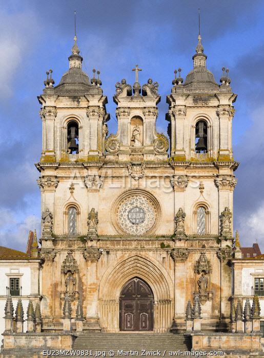 The monastery of Alcobaca, Mosteiro de Santa Maria de Alcobaca (UNESCO World Heritage Site). Portugal.