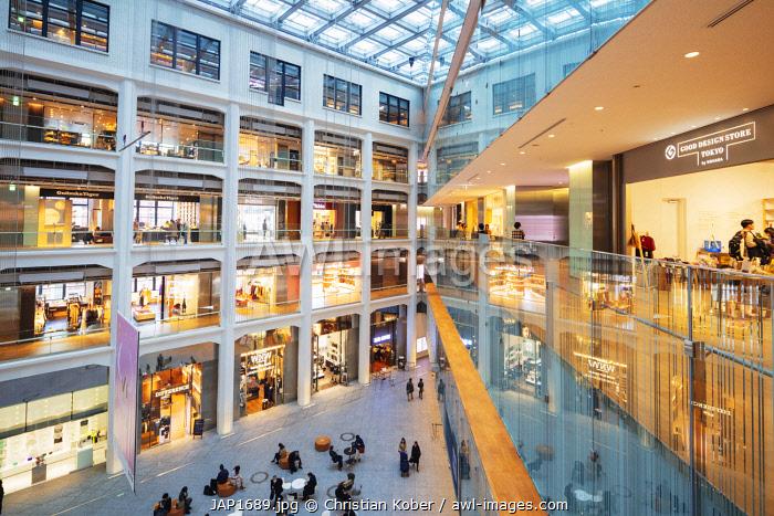 Asia, Japan, Tokyo, Kitte department store