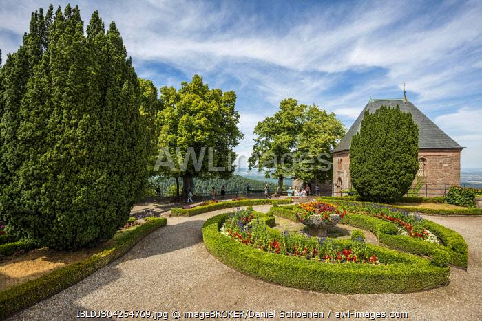 Chapel of Tears, monastery Mont Sainte-Odile, Ottrott, Bas-Rhin, Alsace, France, Europe