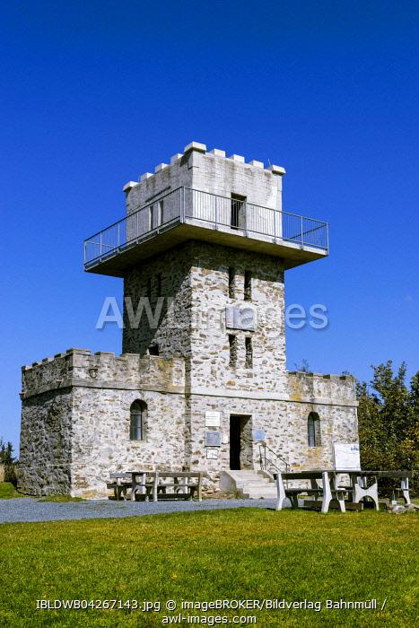 Lookout tower, Geschriebenstein, border to Hungary, Burgenland, Austria, Europe