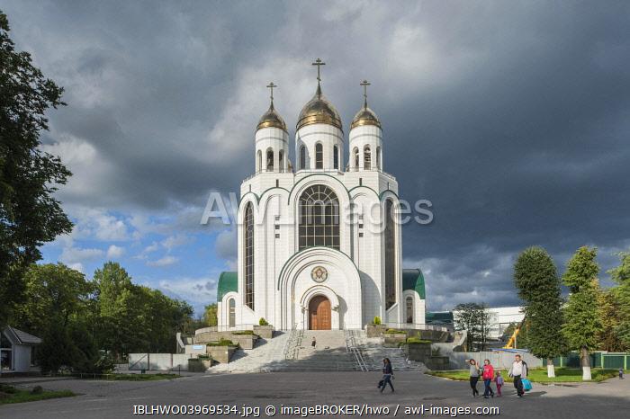 Russian Orthodox Cathedral of Christ the Saviour, Zentralrajon, Kaliningrad, Kaliningrad Oblast, Russia, Europe