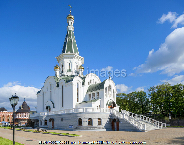 Alexander Nevsky Church, Russian Orthodox, Leningrad Raion, Kaliningrad, Kaliningrad Oblast, Russia, Europe