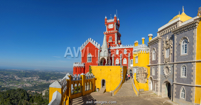 National Palace Pena, Cultural Landscape Sintra, Sintra, Portugal, Europe