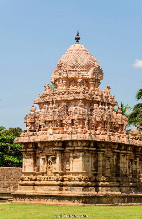 Airavatesvara Temple, temple complex, Darasuram, Tamil Nadu, India, Asia